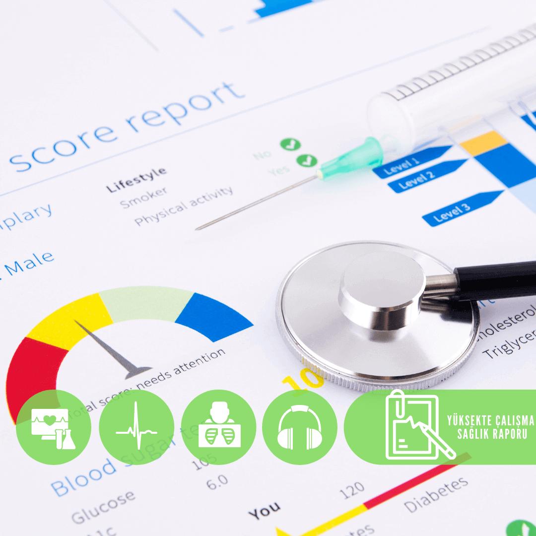 yüksekte çalışma sağlık raporu